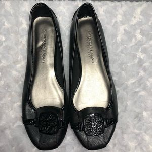 Christian Siriano Black Flats Size 8 1/2